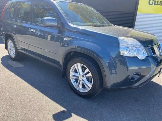 Used Nissan X-Trail T31 Series IV ST 2WD Launceston, 2011 Nissan X-Trail T31 Series IV ST 2WD Blue 1 Speed Constant Variable Wagon