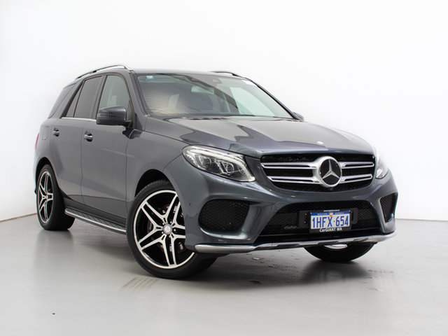 Used Mercedes-Benz GLE400 166 , 2016 Mercedes-Benz GLE400 166 Grey 7 Speed Automatic Wagon