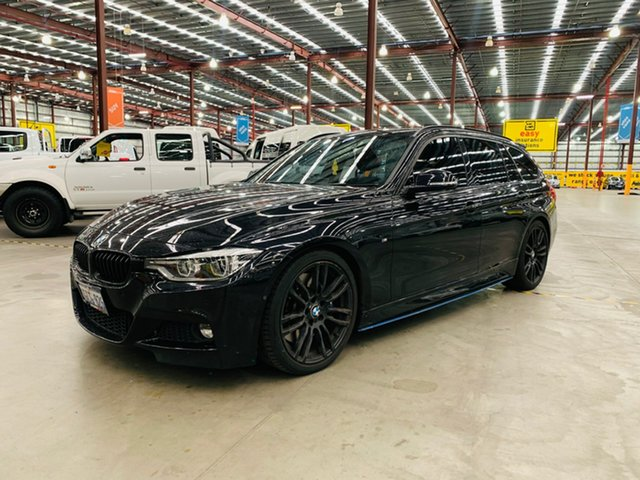 Used BMW 3 Series F31 LCI 330i Touring Sport Line Canning Vale, 2016 BMW 3 Series F31 LCI 330i Touring Sport Line Black 8 Speed Sports Automatic Wagon
