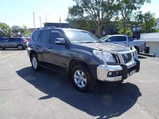 2011 Toyota Landcruiser Prado GRJ150R GXL Grey 5 Speed Automatic Wagon.