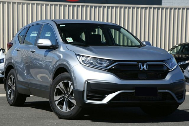 New Honda CR-V RW MY21 VTi FWD 7 Hornsby, 2020 Honda CR-V RW MY21 VTi FWD 7 Lunar Silver 1 Speed Constant Variable Wagon
