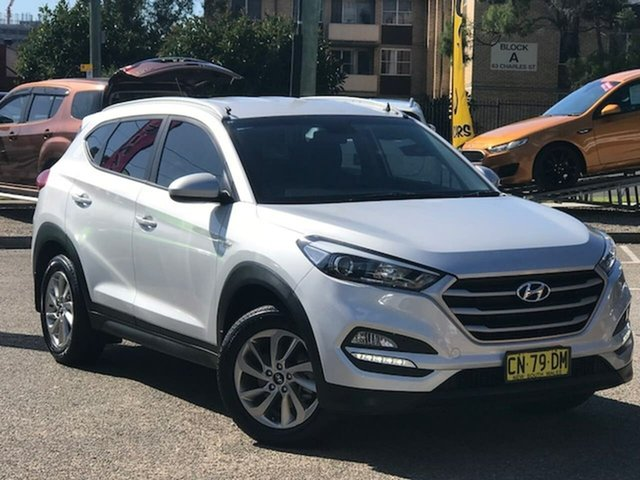 Used Hyundai Tucson TLe MY17 Active 2WD Liverpool, 2017 Hyundai Tucson TLe MY17 Active 2WD Silver 6 Speed Sports Automatic Wagon