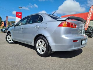 2008 Mitsubishi Lancer ES Silver Manual Sedan.