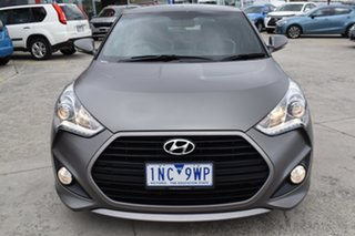 2014 Hyundai Veloster FS3 SR Coupe Turbo Grey 6 Speed Sports Automatic Hatchback.