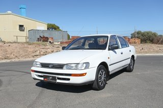 1995 Toyota Corolla AE101R CSi White 4 Speed Automatic Sedan
