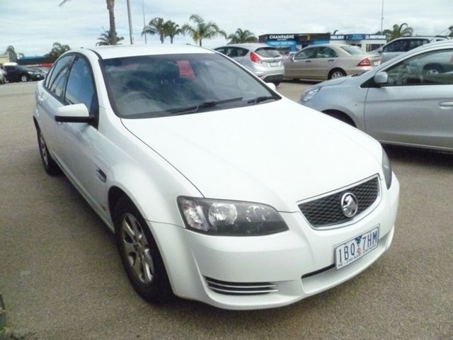 Used Holden Commodore VE II MY12 Omega Moorabbin, 2012 Holden Commodore VE II MY12 Omega White 6 Speed Sports Automatic Sedan