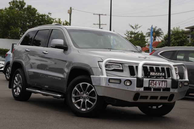 Used Jeep Grand Cherokee WK MY15 Limited Mount Gravatt, 2015 Jeep Grand Cherokee WK MY15 Limited Silver 8 Speed Sports Automatic Wagon