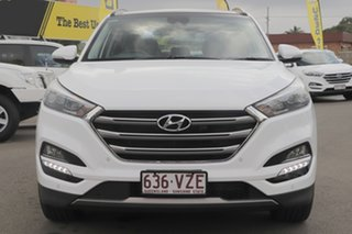 2015 Hyundai Tucson TLE Highlander AWD Polar White 6 Speed Sports Automatic Wagon.