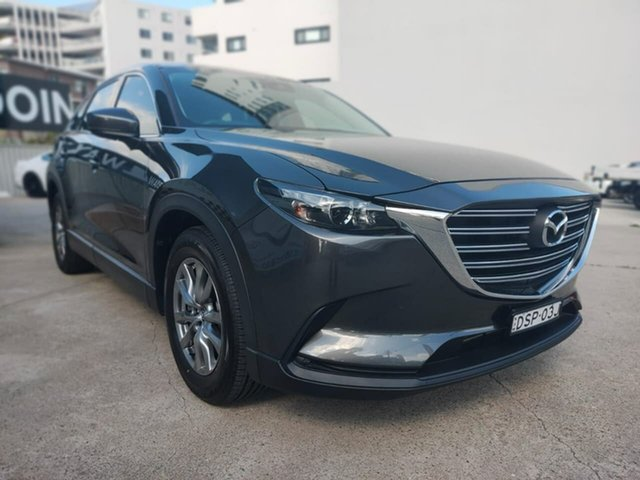 Used Mazda CX-9 Touring Goulburn, 2017 Mazda CX-9 Touring Grey Sports Automatic Wagon