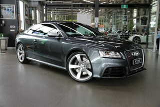 2011 Audi RS5 8T MY11 S Tronic Quattro Grey 7 Speed Sports Automatic Dual Clutch Coupe.