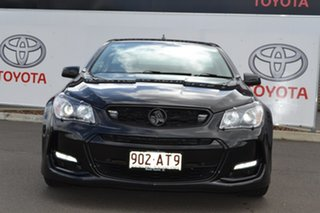 2015 Holden Ute VF II SS-V Black 6 Speed Manual Utility