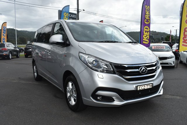 Used LDV G10 SV7A Gosford, 2019 LDV G10 SV7A Silver 6 Speed Sports Automatic Wagon