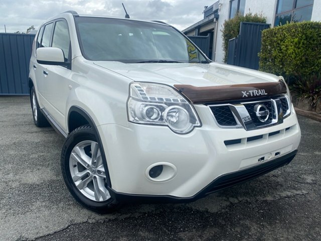 Used Nissan X-Trail T31 Series IV ST Slacks Creek, 2012 Nissan X-Trail T31 Series IV ST White 1 Speed Constant Variable Wagon