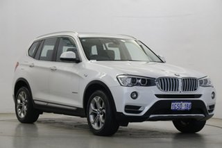 2018 BMW X3 G01 xDrive20d Steptronic White 8 Speed Automatic Wagon