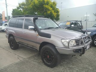 2005 Toyota Landcruiser HDJ100R GXL Bronze 5 Speed Manual Wagon