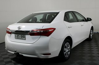 2015 Toyota Corolla ZRE172R Ascent S-CVT White 7 Speed Constant Variable Sedan