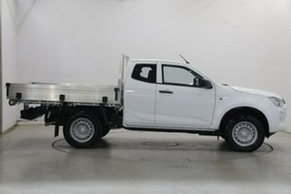 2020 Isuzu D-MAX RG MY21 SX Space Cab White 6 Speed Manual Cab Chassis