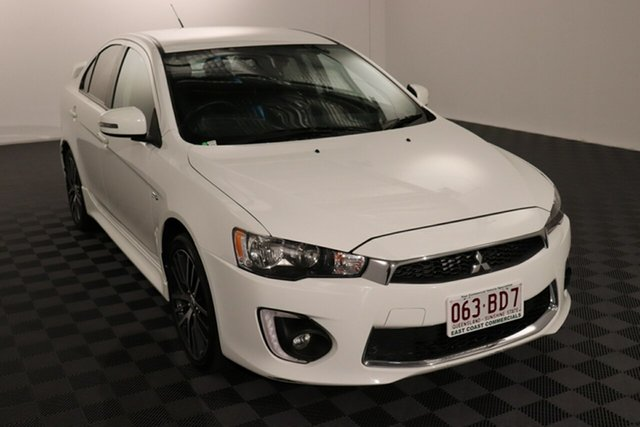 Used Mitsubishi Lancer CF MY17 GSR Acacia Ridge, 2017 Mitsubishi Lancer CF MY17 GSR White 6 speed Automatic Sedan