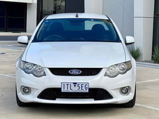 2010 Ford Falcon FG XR6 Ute Super Cab White 4 Speed Sports Automatic Utility.