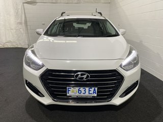 2015 Hyundai i40 VF4 Series II Active Tourer Ceramic White 6 Speed Sports Automatic Wagon.