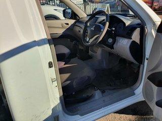 2009 Mitsubishi Triton ML MY09 GL 4x2 White 5 Speed Manual Cab Chassis.