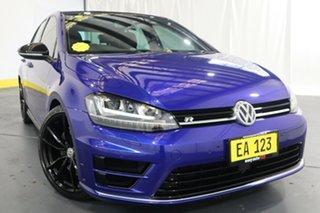 2015 Volkswagen Golf VII MY16 R DSG 4MOTION Wolfsburg Edition Blue 6 Speed.