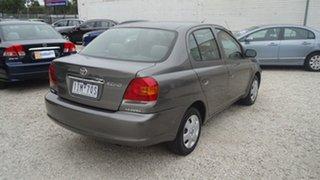 2004 Toyota Echo NCP12R MY03 Grey 4 Speed Automatic Sedan
