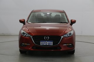 2016 Mazda 3 BN5276 Touring SKYACTIV-MT Soul Red 6 Speed Manual Sedan.
