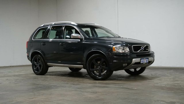 Used Volvo XC90 P28 MY14 R-Design Geartronic Welshpool, 2014 Volvo XC90 P28 MY14 R-Design Geartronic Savile Grey 6 Speed Sports Automatic Wagon