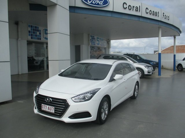 Used Hyundai i40 VF4 Series II MY17 Active Tourer Bundaberg, 2017 Hyundai i40 VF4 Series II MY17 Active Tourer White 6 Speed Automatic Wagon