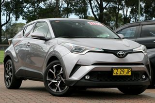 2017 Toyota C-HR NGX10R Koba S-CVT 2WD Shadow Platinum 7 Speed Constant Variable SUV.