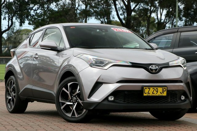 Pre-Owned Toyota C-HR NGX10R Koba S-CVT 2WD Warwick Farm, 2017 Toyota C-HR NGX10R Koba S-CVT 2WD Shadow Platinum 7 Speed Constant Variable SUV