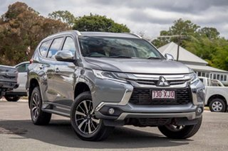 2017 Mitsubishi Pajero Sport QE MY17 GLS Grey 8 Speed Sports Automatic Wagon.