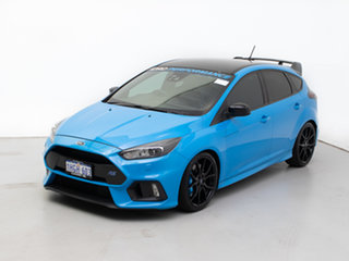 2017 Ford Focus LZ RS Limited Edition Blue 6 Speed Manual Hatchback