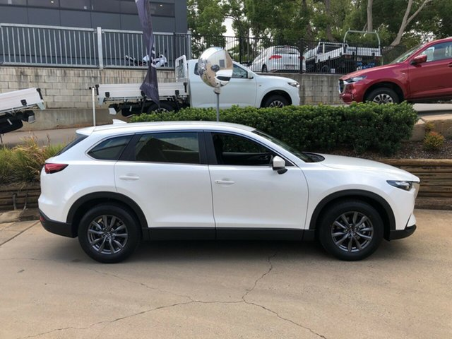 Demo Mazda CX-9 TC Sport SKYACTIV-Drive Toowoomba, 2021 Mazda CX-9 TC Sport SKYACTIV-Drive White 6 Speed Sports Automatic Wagon