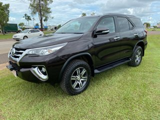 2016 Toyota Fortuner GXL Black 4 Speed Auto Active Select Wagon