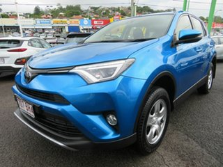 2018 Toyota RAV4 ZSA42R GX 2WD Blue 7 Speed Constant Variable Wagon.