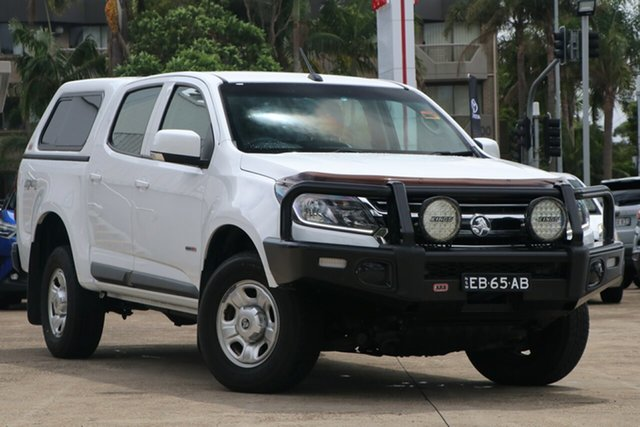 Pre-Owned Holden Colorado RG MY17 LS (4x4) Mosman, 2017 Holden Colorado RG MY17 LS (4x4) White 6 Speed Automatic Crew Cab Pickup