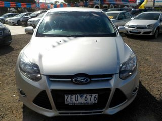 2012 Ford Focus LW MK2 Sport Silver 6 Speed Automatic Hatchback.