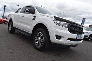 2019 Ford Ranger PX MkIII 2019.75MY XLT White 10 Speed Sports Automatic Super Cab Pick Up