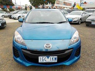 2013 Mazda 3 BL Series 2 MY13 Maxx Sport Blue 5 Speed Automatic Hatchback.