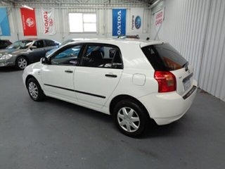 2002 Toyota Corolla ZZE122R Ascent White 5 Speed Manual Hatchback