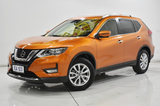 Used Nissan X-Trail T32 Series II ST-L X-tronic 4WD Brooklyn, 2017 Nissan X-Trail T32 Series II ST-L X-tronic 4WD Orange 7 Speed Constant Variable Wagon