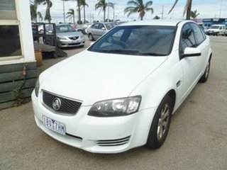 2012 Holden Commodore VE II MY12 Omega White 6 Speed Sports Automatic Sedan