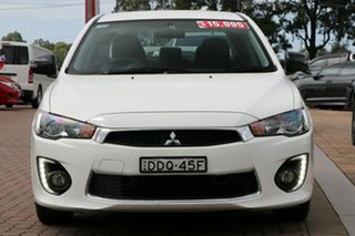 2016 Mitsubishi Lancer CF MY16 ES Sport White 5 Speed Manual Sedan