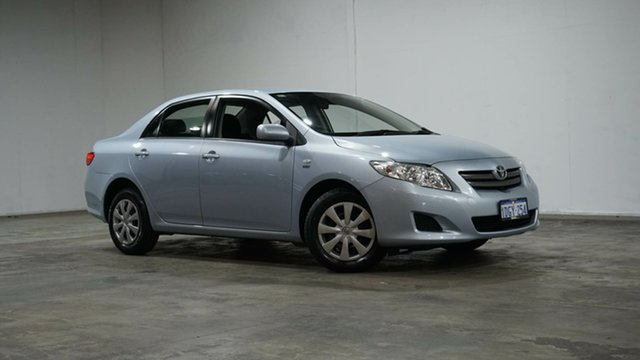 Used Toyota Corolla ZRE152R Ascent Welshpool, 2010 Toyota Corolla ZRE152R Ascent Silver 4 Speed Automatic Sedan