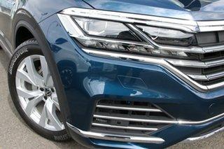 2020 Volkswagen Touareg CR MY21 210TDI Tiptronic 4MOTION Elegance Aquamarine Blue Metallic 8 Speed.