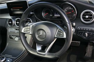 2017 Mercedes-Benz C-Class C205 807+057MY C43 AMG 9G-Tronic 4MATIC White 9 Speed Sports Automatic