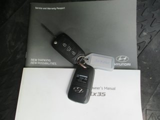 2013 Hyundai ix35 LM MY13 Elite (AWD) White 6 Speed Automatic Wagon