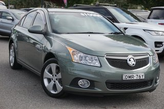2014 Holden Cruze JH Series II MY14 Equipe Grey 6 Speed Sports Automatic Sedan.